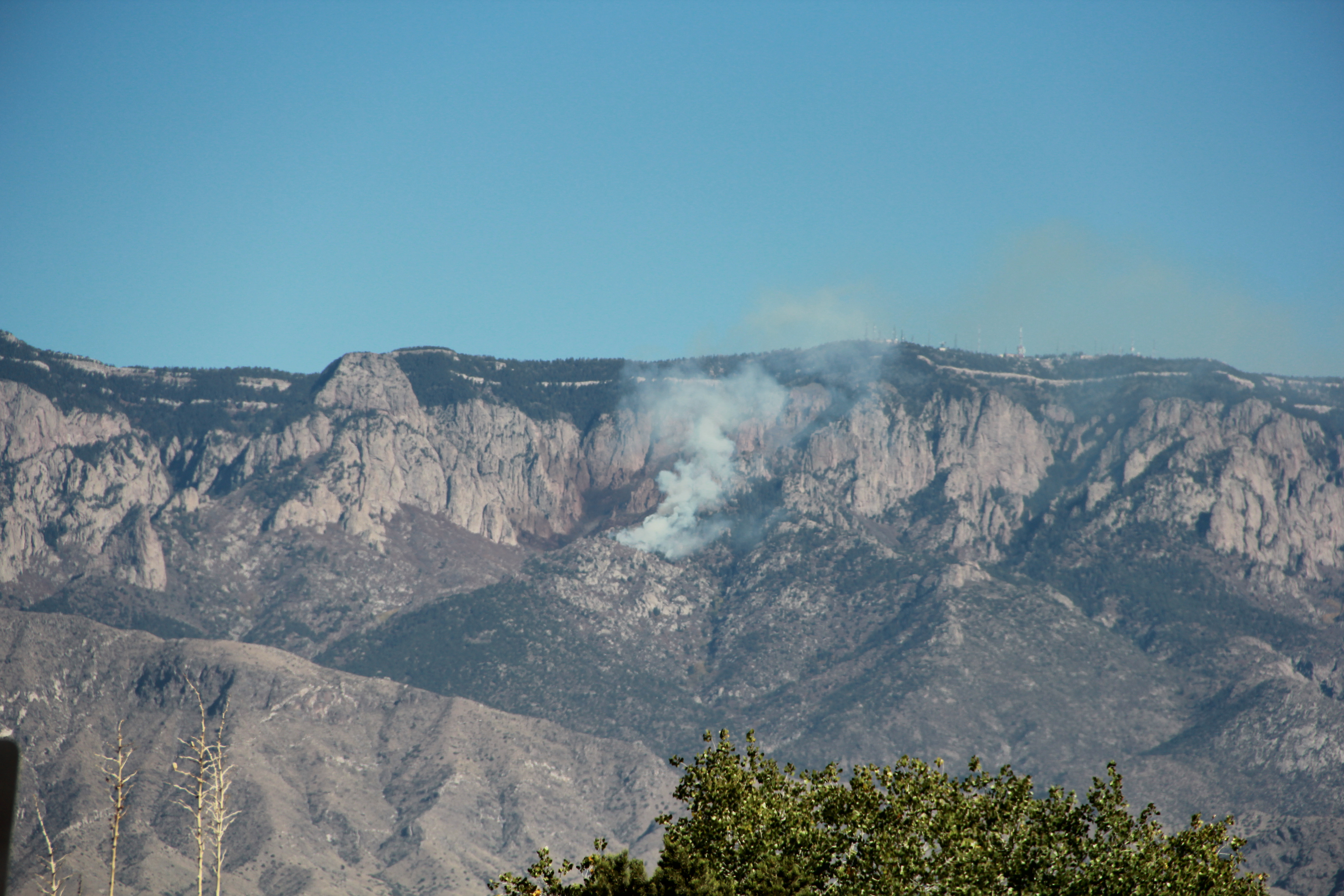 Chimney Canyon Fire